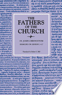 Homilies On Genesis 1 17 The Fathers Of The Church Volume 74