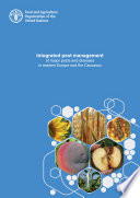 Integrated pest management of major pests and diseases in eastern Europe and the Caucasus