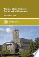 Book Cover: Natural lStone Resources for Historical Monuments