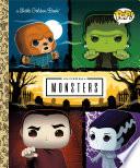 Universal Monsters Little Golden Book  FUNKO POP