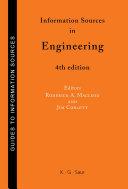 Information Sources in Engineering Pdf/ePub eBook