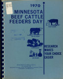 Minnesota Beef Cattle Feeders Day