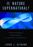 Is Nature Supernatural?