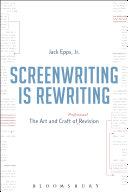 Screenwriting is Rewriting