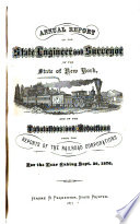 Annual Report Of The State Engineer And Surveyor Of The State Of New York And Of The Tabulations And Deductions From The Reports Of The Railroad Corporations For The Year Ending