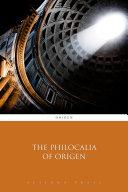 The Philocalia of Origen