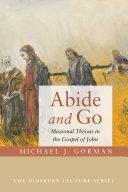 Abide and Go Pdf/ePub eBook