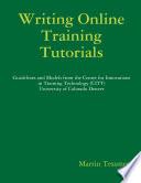 Writing Online Tutorials Book