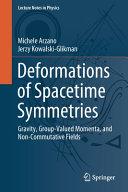 Deformations of Spacetime Symmetries