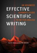 Effective Scientific Writing