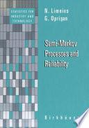 Semi Markov Processes and Reliability Book