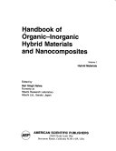 Handbook of Organic inorganic Hybrid Materials and Nanocomposites  Hybrid materials Book