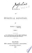 Hymns of Spiritual Devotion  pt  1  MS  notes