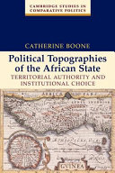 Political Topographies of the African State