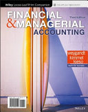 Financial and Managerial Accounting  WileyPLUS   Loose leaf