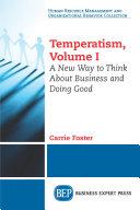 Temperatism, Volume I Pdf/ePub eBook