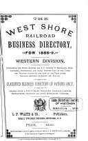 The West Shore Railroad Business Directory