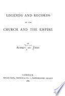 Legends   Records of the Church   the Empire Book