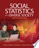 Social Statistics For A Diverse Society Book