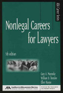 Nonlegal Careers for Lawyers