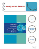 Elementary Differential Equations and Boundary Value Problems  Binder Ready Version Book
