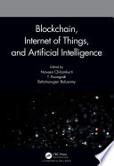 Blockchain  Internet of Things  and Artificial Intelligence