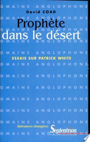 Download Prophète dans le désert Books - RDFBooks