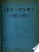 The Civil Service Record