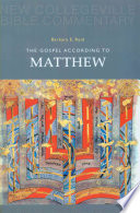 The Gospel According To Matthew Book PDF