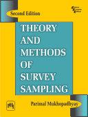 THEORY AND METHODS OF SURVEY SAMPLING Pdf