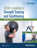 link to ACSM's foundations of strength training and conditioning in the TCC library catalog