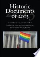 Historic Documents of 2013