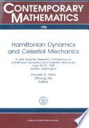 Hamiltonian Dynamics And Celestial Mechanics
