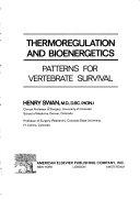 Thermoregulation and Bioenergetics Book