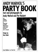 Andy Warhol's party book