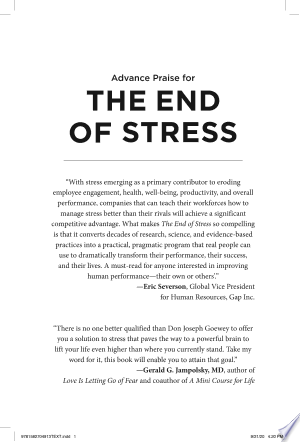 Download The End of Stress Free Books - Dlebooks.net