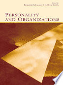 Personality and Organizations Book