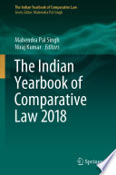 The Indian Yearbook Of Comparative Law 2018