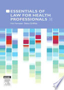 Essentials of Law for Health Professionals Book