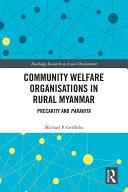 Community Welfare Organisations in Rural Myanmar Pdf/ePub eBook