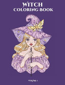 Witch Coloring Book