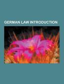 German Law Introduction