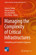 Pdf Managing the Complexity of Critical Infrastructures Telecharger