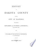 History of Dakota County and the City of Hastings