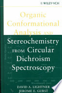 Organic Conformational Analysis and Stereochemistry from Circular Dichroism Spectroscopy Book
