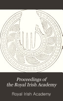 Proceedings of the Royal Irish Academy Book