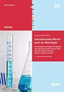 Internationales Wörterbuch der Metrologie
