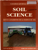 Canadian Journal of Soil Science Book