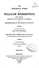 The Historical Works of William Robertson