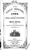 Albany City Directory